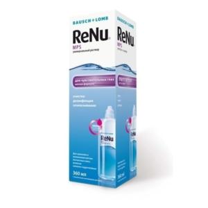 Раствор Renu MPS для чувствительных глаз
